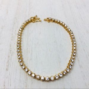 Like 🆕 looks real sterling tennis bracelet, 10.2g